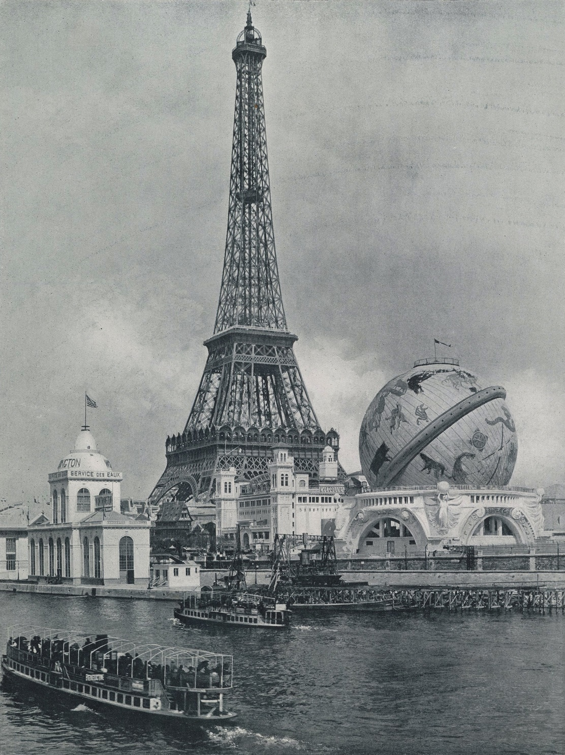 The Exposition Universelle of 1900 in Paris. Source: Google.