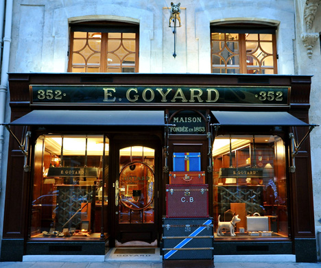Goyard store on 233 rue Saint-Honoré. Source: Google.