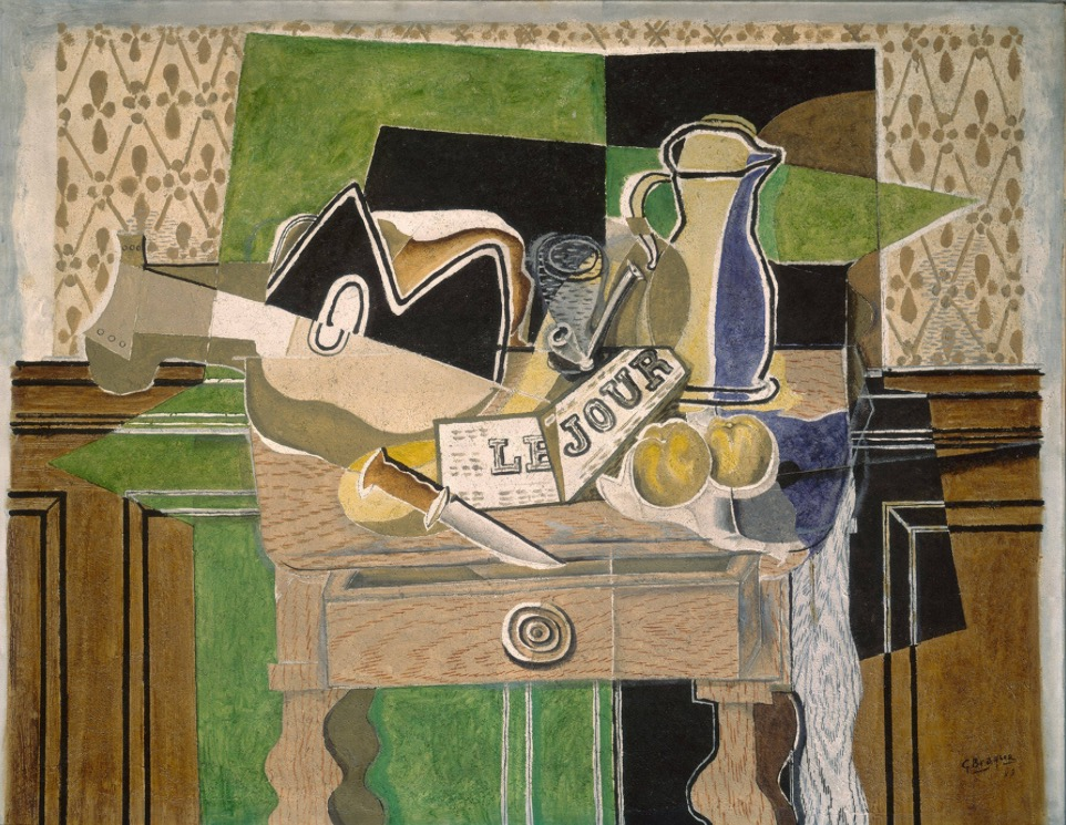 Georges Braque, Still Life le Jour, 1929. Source: http://arthistoryproject.com/artists/georges-braque/