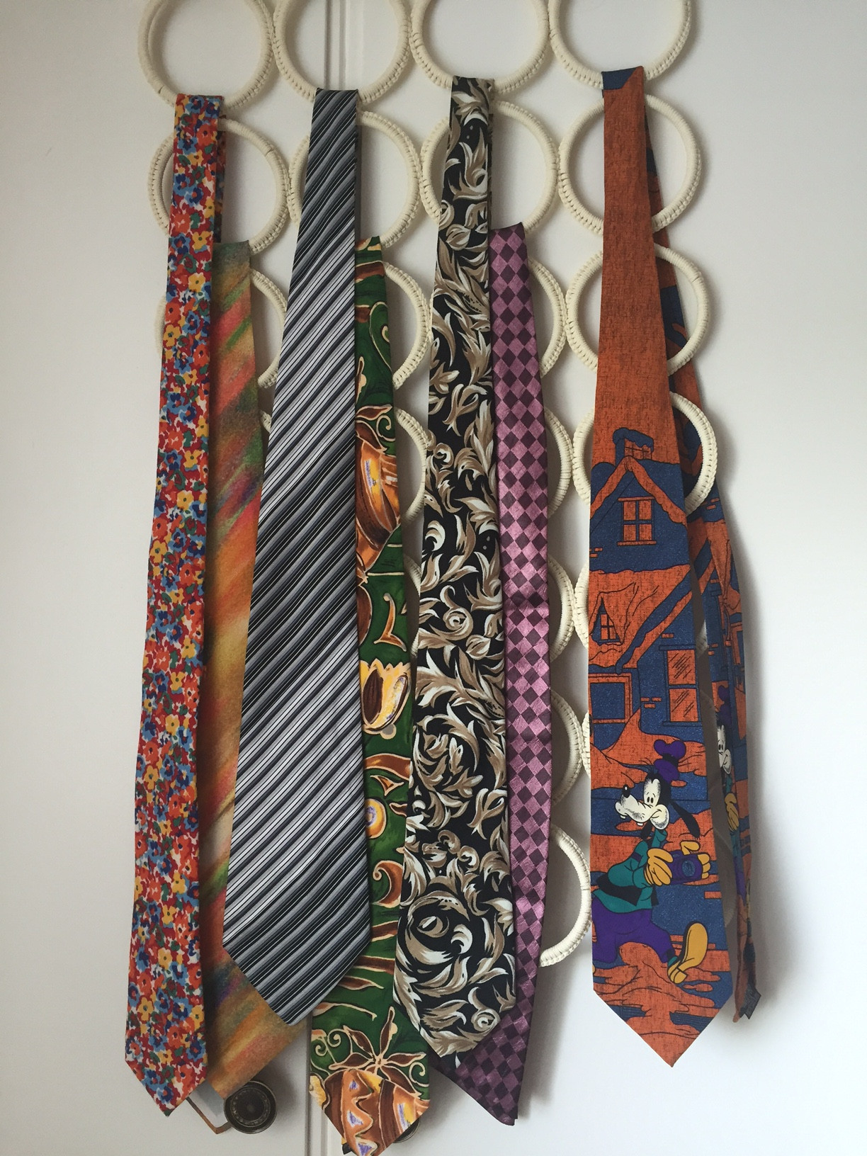 Collection of ties in my possession:) All are second hand and thus with own story each ;)