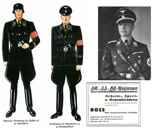Hugo Boss produced uniform. Source: Google