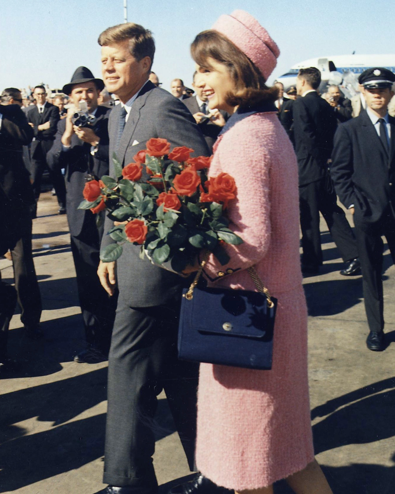 The Kennedys on the day of assassination. Source: Google