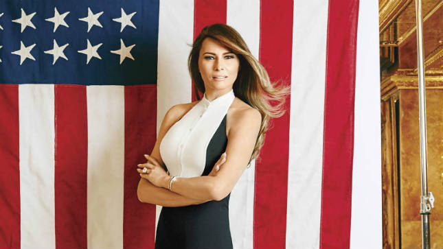 Melania Trump. Source: Google